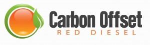 Carbon Offset Red Diesel Logo