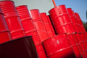 Red Diesel Price - red barrels containing red diesel