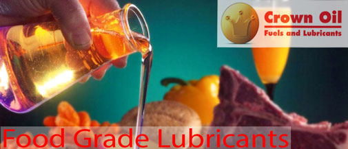 Food Grade Lubricants from Crown Oil