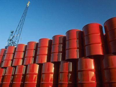 Red Diesel Barrels