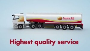 Kerosene - Articulated delivery tanker - 36,000 litre heating oil capacities