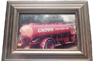 old crown oil delivery truck