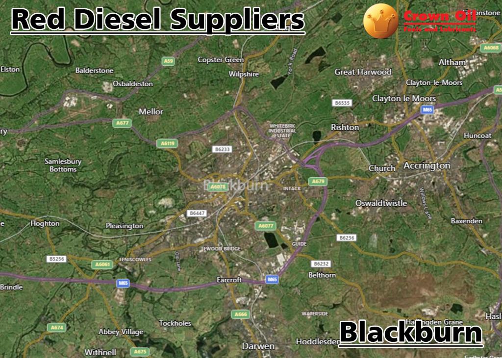 Red Diesel Suppliers Blackburn