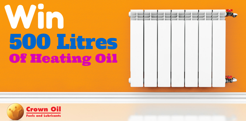 Win 500 litres of heating oil