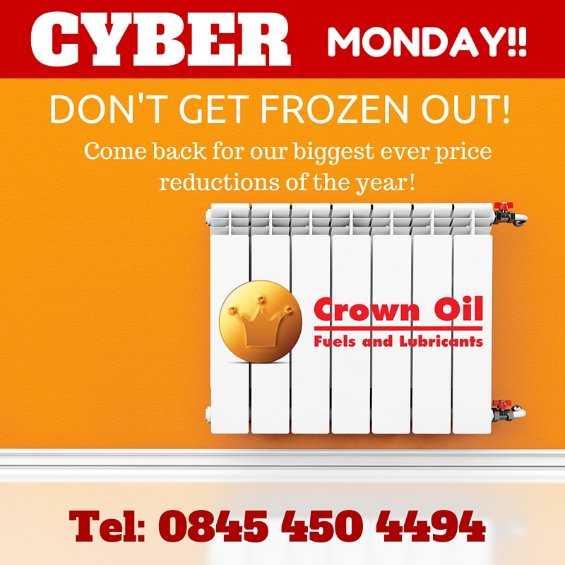 Cyber Monday - Heating Oil Offers