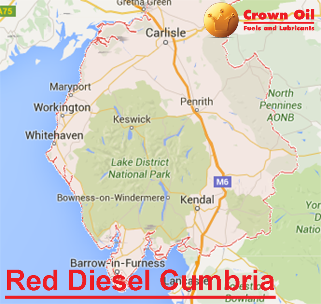 Red Diesel Cumbria - Same/Next Day Bulk and barrels Deliveries of Gas Oil
