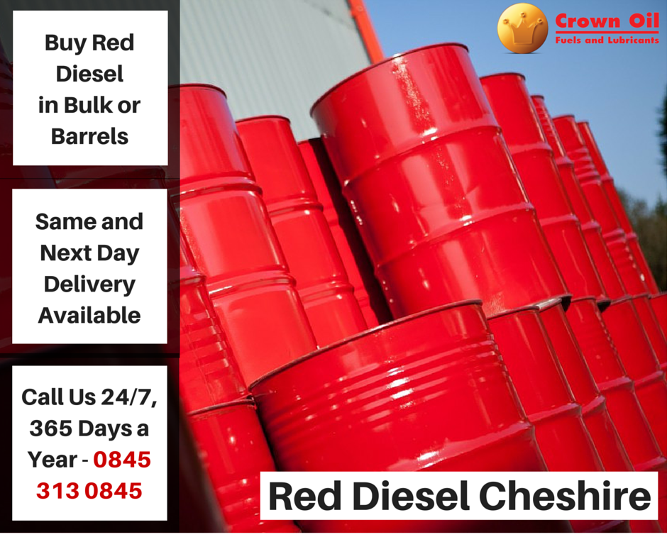 Red Diesel Cheshire | Bulk and Barrel Gas Oil Suppliers