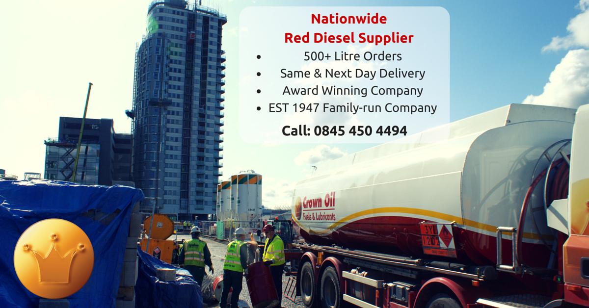 Nationwide Red Diesel Fuel Supplier
