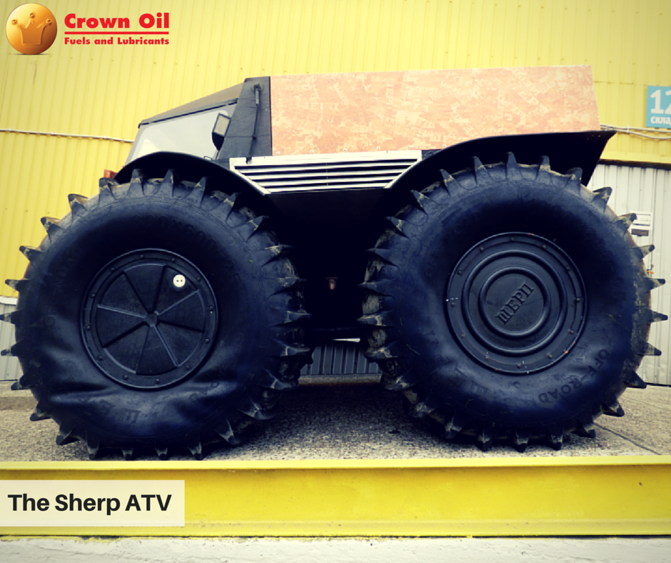 Buying Diesel For Your Sherp ATV