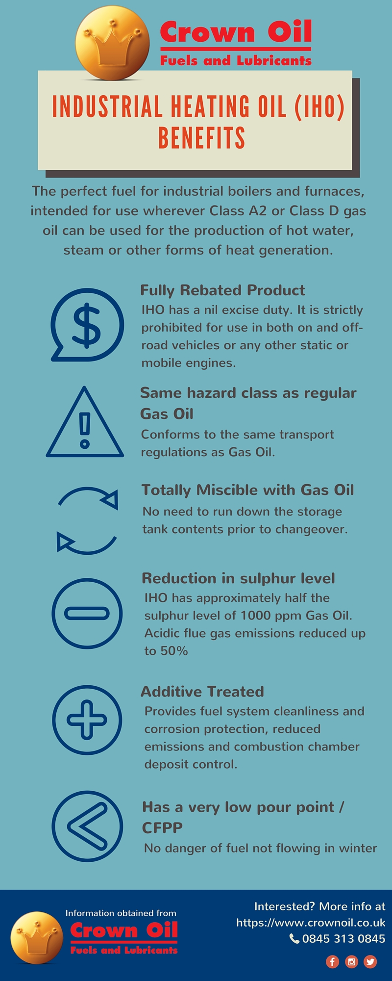 Industrial Heating Oil Benefits