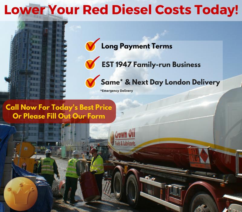buy red diesel now in london