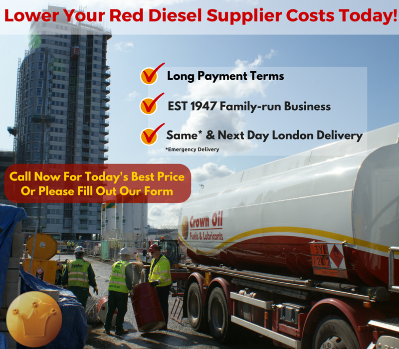 Red Diesel Fuel Supplier London