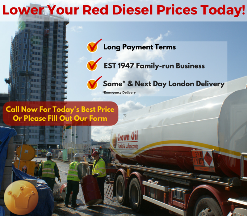 Lower Red Diesel Prices in London