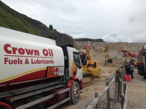 quarry fuel