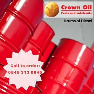 drums of diesel