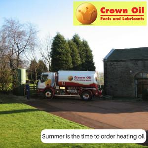 Order heating oil in the summertime