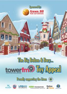 Bolton And Bury Toy Appeal 2016